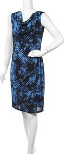 Niebieska sukienka Maidoma bez rękawów z dekoltem w kształcie litery v