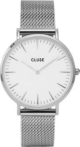 Zegarek CLUSE - Boho Chic CW0101201002 Mesh White/Silver