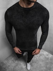 Czarny sweter Ozonee z bawełny