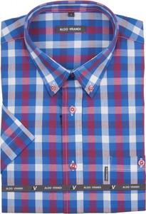 Niebieska koszula Aldo Vrandi