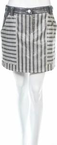Srebrne spodnie Emporio Armani w stylu casual