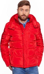 Czerwona kurtka Wrangler w stylu casual