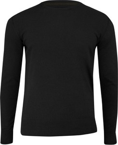 Czarny sweter Just yuppi w stylu casual