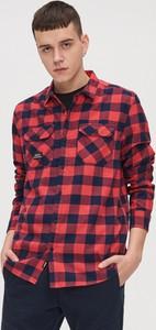 Koszula Cropp z długim rękawem z bawełny