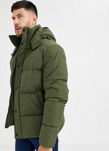 Zielona kurtka Asos w młodzieżowym stylu