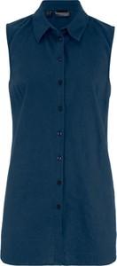 Tunika bonprix bpc bonprix collection w stylu casual bez rękawów z lnu