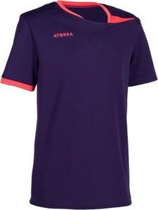 Brązowa koszulka dziecięca Atorka z krótkim rękawem