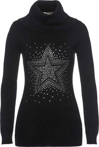 Czarny sweter bonprix bpc selection w stylu casual