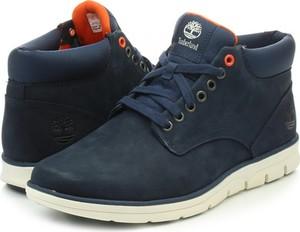 Buty zimowe Timberland sznurowane w stylu casual