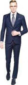 Niebieski garnitur recman