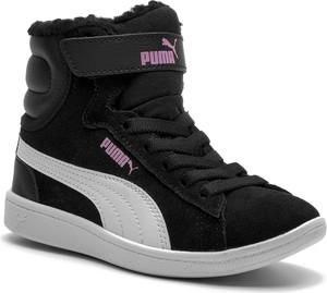 Trzewiki PUMA - Vikky Mid Fur V PS 366854 01 Puma Black/Puma White