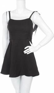 Czarna sukienka Lztlylzt w stylu casual na ramiączkach