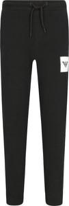 Czarne spodnie dziecięce Emporio Armani
