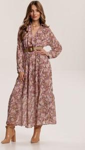 Sukienka Renee maxi z długim rękawem w stylu boho