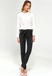 Czarne spodnie Merg w stylu klasycznym