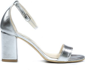 Sandały Zapato ze skóry