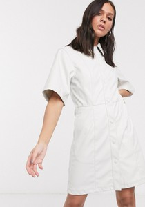Sukienka Weekday z krótkim rękawem mini