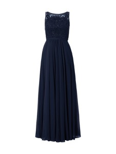 Niebieska sukienka Luxuar maxi