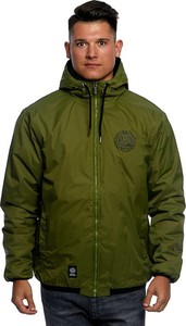 Zielona kurtka Mass Denim w stylu casual