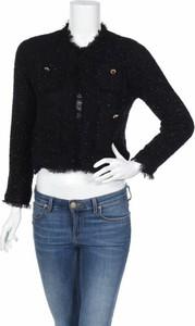 Czarna marynarka Zara Knitwear na guziki
