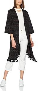 New look damskie cape c + s tassel trim kimono - krój regularny 44
