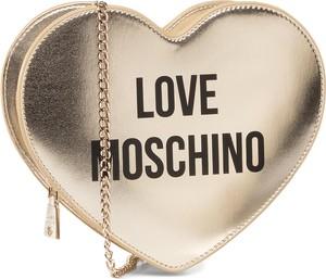 Złota torebka Love Moschino mała