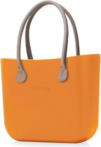Pomarańczowa torebka O Bag do ręki