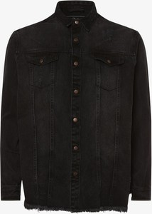 Czarna kurtka Urbn Saint z jeansu