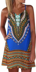 Sukienka Arilook mini z dekoltem w kształcie litery v