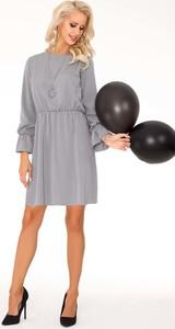 Sukienka MERRIBEL w stylu casual z okrągłym dekoltem midi