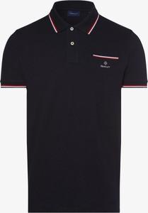 Koszulka polo Gant z krótkim rękawem