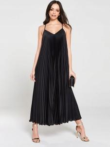 Czarna sukienka River Island na ramiączkach