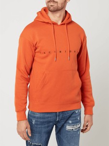 Pomarańczowa bluza Jack & Jones z bawełny