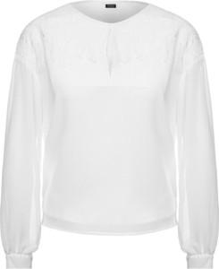 Bluzka Guess z okrągłym dekoltem w stylu casual