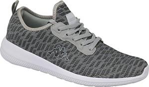 d113722a Czarne buty sportowe Kappa sznurowane w sportowym stylu