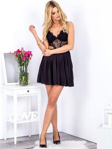 Sukienka Sheandher.pl z dekoltem w kształcie litery v mini