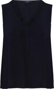 Czarna bluzka Vero Moda z dekoltem w kształcie litery v w stylu casual