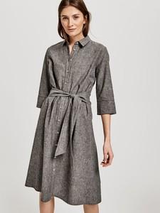 Sukienka Opus w stylu casual mini z długim rękawem
