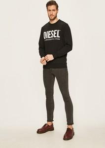 Bluza Diesel z dzianiny w młodzieżowym stylu