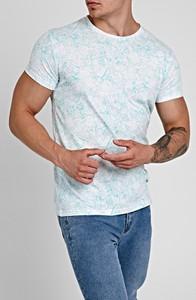 T-shirt Gate z krótkim rękawem z bawełny