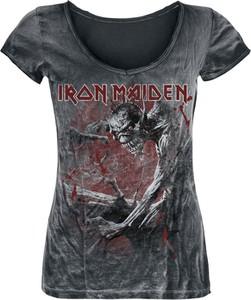 T-shirt Iron Maiden z krótkim rękawem