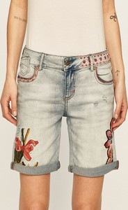 Szorty Desigual z jeansu w stylu casual