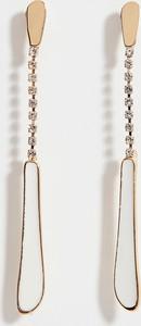 Mohito - Długie kolczyki z kryształkami - Biały