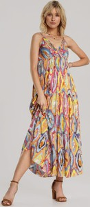 Sukienka Renee maxi na ramiączkach