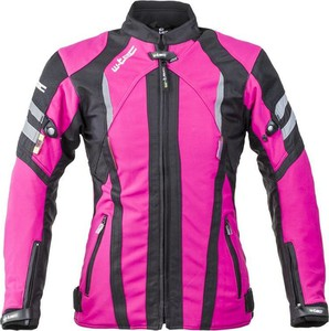Różowa kurtka W-tec z tkaniny