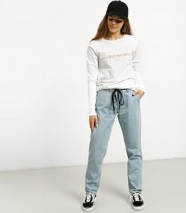 Bluzka Element z bawełny z długim rękawem
