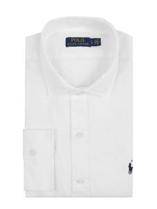Koszula POLO RALPH LAUREN z lnu w stylu casual z długim rękawem