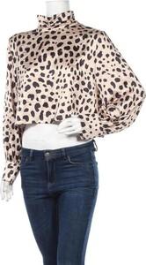 Bluzka Lola May z dekoltem w kształcie litery v