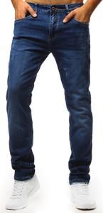 Niebieskie jeansy Dstreet w stylu casual z jeansu