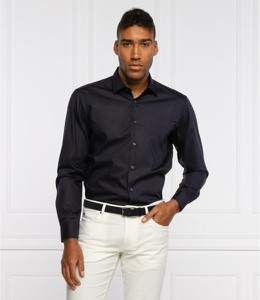 Czarna koszula Hugo Boss w stylu casual